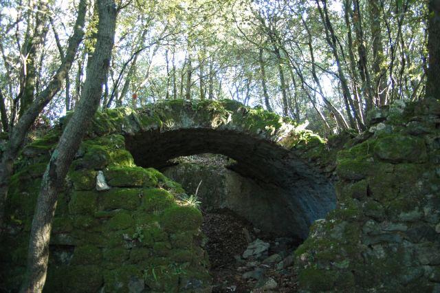 Una cisterna del castello