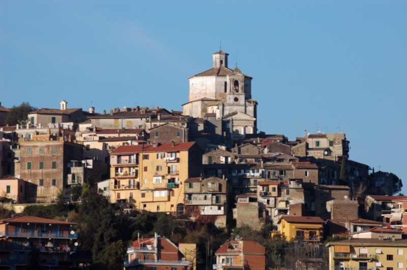 Una veduta del borgo