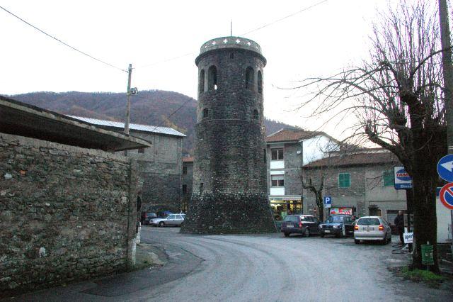 La torre cilindrica