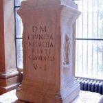Ara funeraria di Caius Fundanius Eucharistus