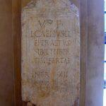 Stele funeraria del liberto Lucius Caelius Eperastus