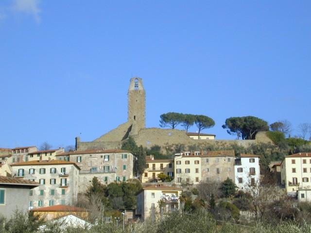 Panorama con il Cassero