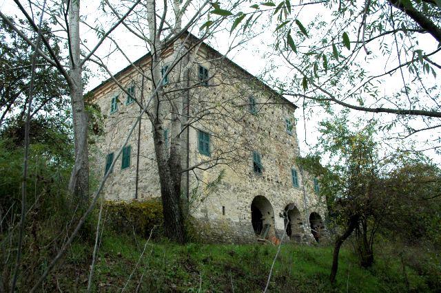 Palazzo nel sito del castello