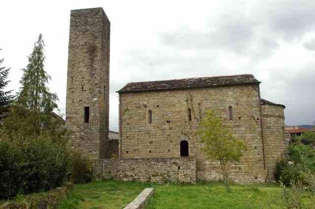 La torre e la chiesa di San Giorgio