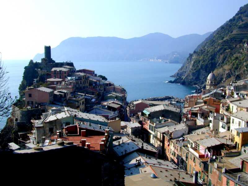 Una vista del borgo