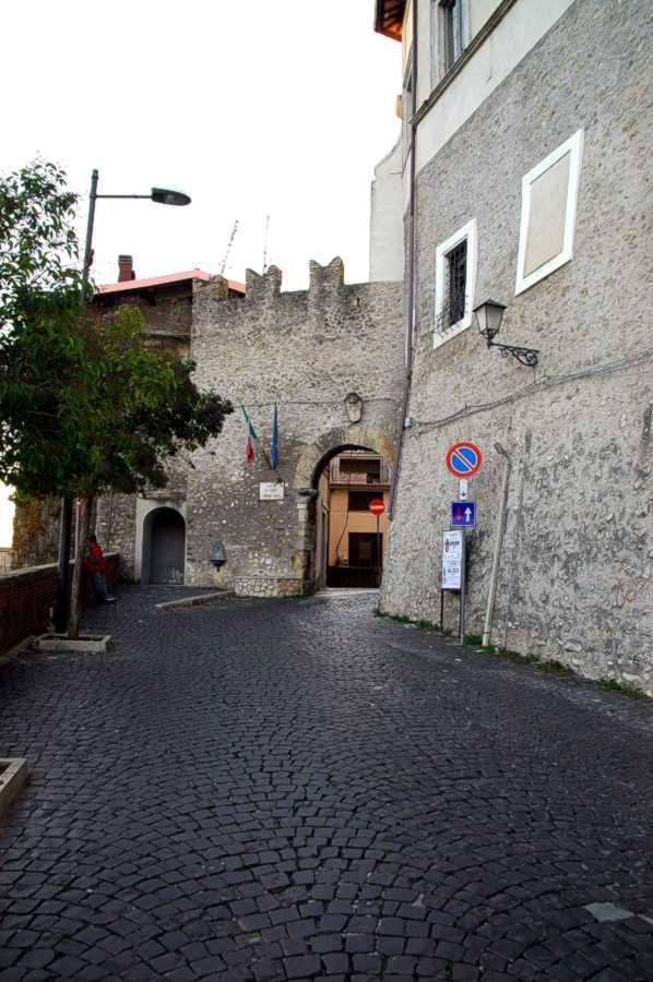 Porta di Sopra o Porta Capu