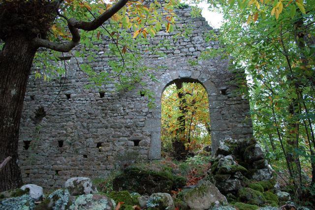 Una porta del castello