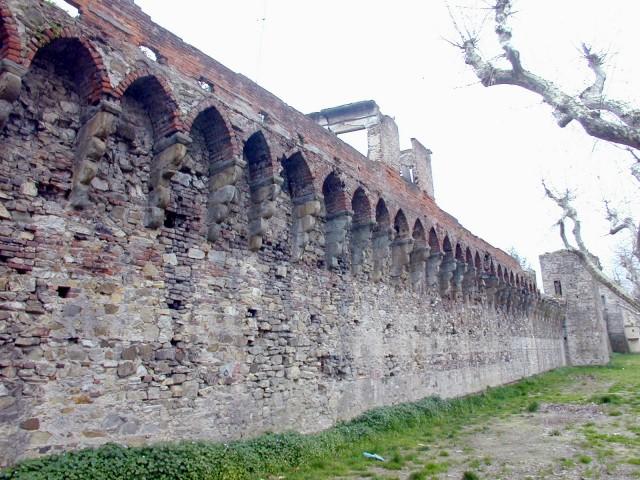 Un tratto delle mura