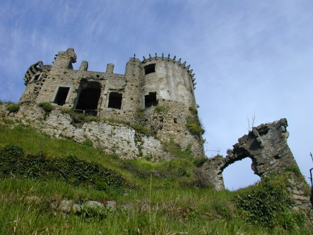 Il castello prima del restauro